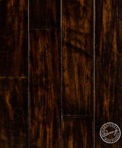 Hardwood Floor Sample Provenza Custom Gallery Black Moss 133