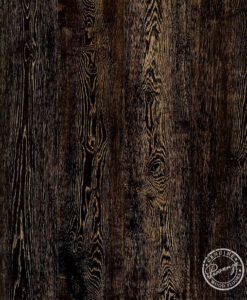 Hardwood Floor Provenza Custom Black 235 Sample